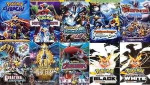10 Películas Pokemon gratis
