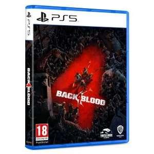 Back 4 Blood para PS5, PS4 y XBOX ONE acumula 6€ en tu chequeahorro y te lo envían a casa gratis!