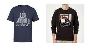 Ropa Star Wars -Camisas 2x14,99€ / Sudaderas 2x28,99€