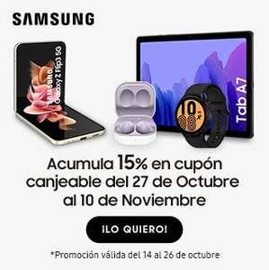 Cupon 15% en Smartphones, tablets y wearables en Carrefour (Varias marcas)