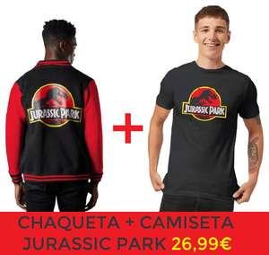 Pack Jurassic Park - Chaqueta + camiseta