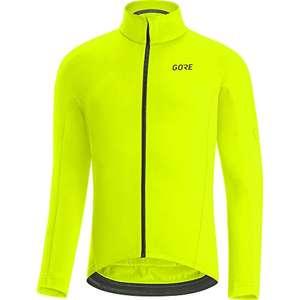 GORE WEAR Maillot térmico de ciclismo para hombre C3 amarillo neón tallas S a XL