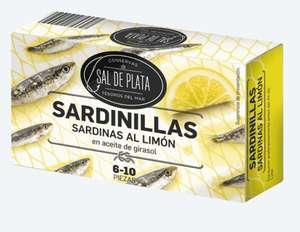 Sardinillas en aceite de girasol al limón
