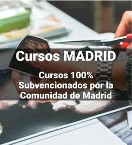 Cursos 100% subvencionados por la Comunidad de Madrid para trabajadores, autónomos y desempleados