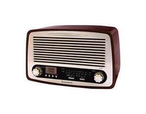 Sunstech RPR4000, Radio de Sobremesa, Madera