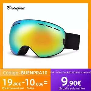 Gafas de Esquí con Lente Intercambiable (Desde España)