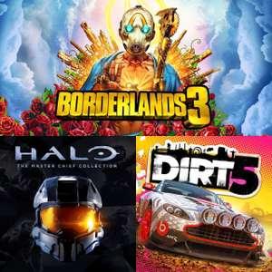 Juega GRATIS Halo The Master Chief Collection, Dirt 5 (XBOX) | Borderlands 3 (Todas las plataformas) y Halo 2-3-Envolved (Steam)