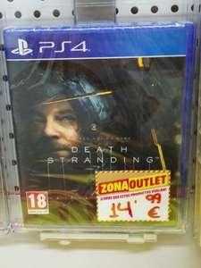 Death Stranding PS4 (Mediamarkt de Huelva)