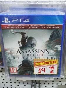Assassins Creed III Remastered PS4 (Mediamarkt de Huelva)