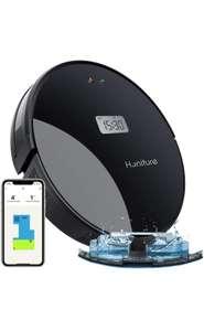 Robot aspirador, friega y pasa la mopa, con navegador inteligente.