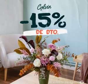 15% de descuento en Floristeria Colvin y envio gratis