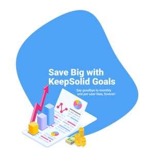 Suscripción vitalicia de Goals by KeepSolid (software de gestión de proyectos por objetivos)