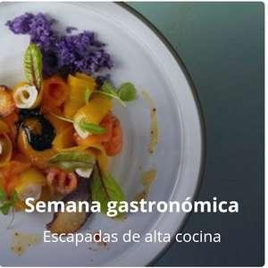 72 Escapaditas De la Semana Gastronómica Noches Hoteles 3/4* + Cenas + Cava + Regalos por solo 49'50€ +(Cancela gratis) (PxPm2)