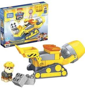 Mega Bloks Coche para construir, Vehículo de juguete de bloques de construcción Patrulla canina Rubbel