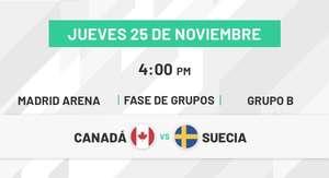 Entradas partido inaugural Copa Davis por 5€ - Canadá vs Suecia