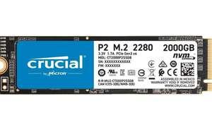 Crucial P2 CT2000P2SSD8 SSD Interno 2Tb