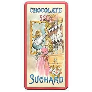 Suchard - Turrón de Chocolate Crujiente, lata 2 x 260g