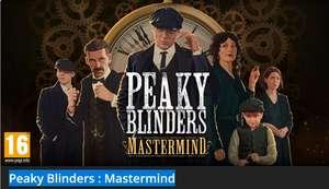 Peaky Blinders : Mastermind - Nintendo Switch E-Shop