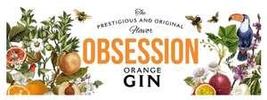 1.000 botellas gratis de Obsession Gin Orange para los primeros que se registren