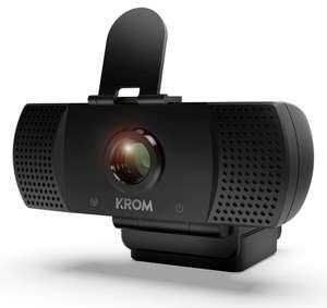 KROM KAM Webcam 1080p, 30fps (Desde España) (A partir del 18/10 a las 10:00)