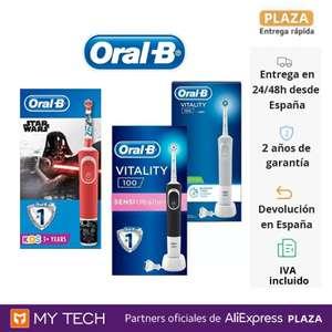Oral-B Cepillo de dientes eléctrico D100 Vitality (Desde España) (A partir del 21/10 a las 10:00)