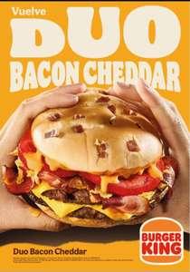 Vuelve la Duo Bacon Cheddar + 2x1 en Helados Sandy y más cupones