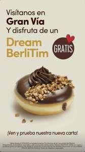 Dream BerliTim GRATIS (Tim Hortons, Gran Vía de Madrid)