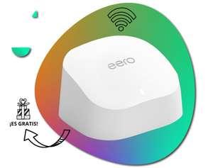 Router wifi 6 de Amazon gratis con los packs de fibra y de fibra con móvil de Adamo