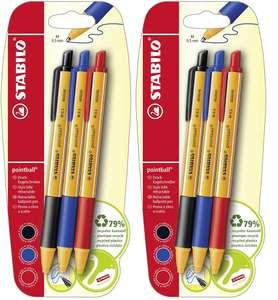 6X Bolígrafos Stabilo solo 3.8€