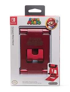 Playstand metálico de Super Mario para Nintendo Switch + bolsa por sólo 8,97€