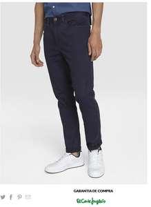 Pantalones hombre 5 bolsillos