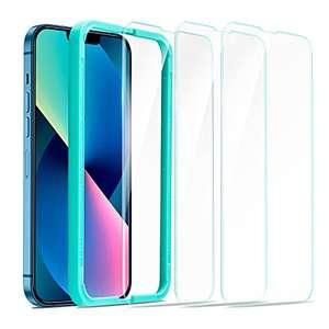 3 Protectores de pantalla cristal templado - iPhone 13 y pro/pro MAX