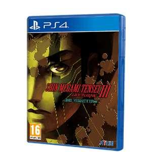Shin Megami Tensei III Nocturne HD Remaster (PS4 y Switch)