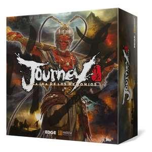"""""""Journey: La ira de los demonios"""", juego de tablero"""