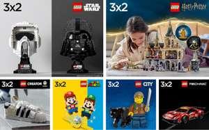 3x2 en todo Lego sin excepciones