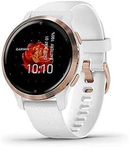 Smartwatch Garmin Venu 2s (oro rosa y blanco)