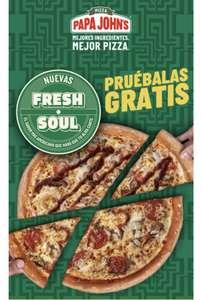 Prueba gratis las nuevas pizzas de Papa Johns