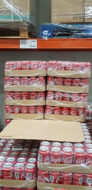 Coca cola lata a 57 centimos en Costco Sevilla