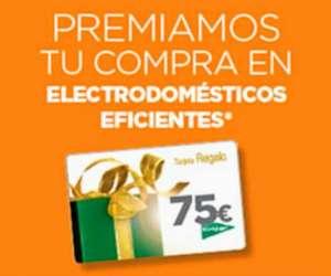 75€ DE REGALO En el Día Mundial del Ahorro Energético en El Corte Inglés