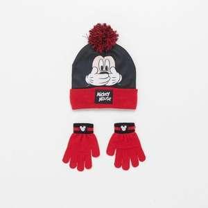 Gorro&guantes Mickey