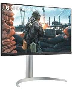 "LG 27UP650 UltraHD 4K Monitor 27"" LED IPS HDR 400, 3840 x 2160, AMD FreeSync 60Hz, HDMI 2.0 (HDCP 2.2), Display Port 1.4"