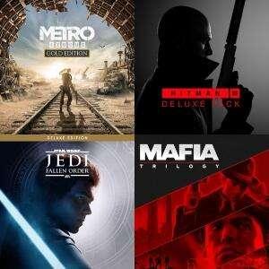 Metro Exodus Gold Edition 5€, Mafia: Trilogy 9€, Star Wars Jedi: Fallen 7€, Hitman3 Deluxe 4,24€ o 19€, The Outer Worlds 9€ | EPIC GAMES
