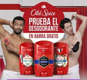 Compra un desodorante en barra OLD SPICE y solicita su reembolso GRATIS