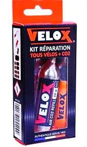 Todo para la bicicleta con descontazos en Eroski. Este Kit de reparación Velox y mucho +++++++ en la descripción.