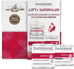 Diadermine - Cofre Compostable Y Biodegradable Super Rellenador - Crema De Día Super Rellenador 50ml + Crema De Noche Super Rellenador 50ml