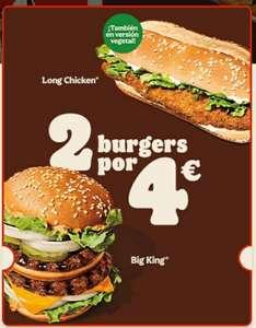 2X4€ Burger King
