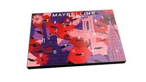 Calendario adviento Maybelline 2021