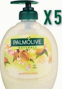 [5 x 330ml] Palmolive Naturals Delicate Care Jabón Líquido de Manos (+ Descripción)