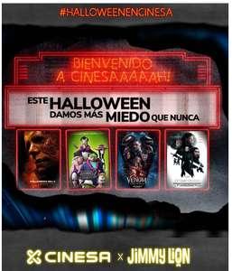 CINESA - Pack Regalo Halloween 12.45€xpersona [2 entradas + 2 Palomitas Grandes + 2 Refrescos + 2 pares de calcetines]