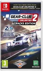 Gear.Club Unlimited 2 - Tracks Edition (Switch)